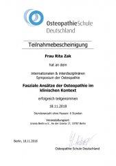 Osteopathieschule Deutschland