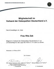 Verband der Osteopathen Deutschland e.V.